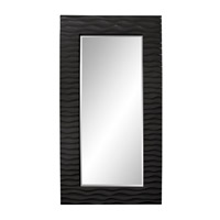 Howard Elliott Collection 56001BL Broadway 58 X 30 inch Black Wall Mirror photo thumbnail