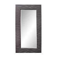 Howard Elliott Collection 56001CH Broadway 58 X 30 inch Charcoal Gray Wall Mirror photo thumbnail