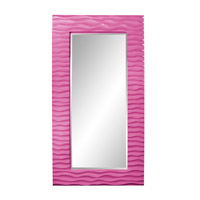 Howard Elliott Collection 56001HP Broadway 58 X 30 inch Hot Pink Mirror Home Decor