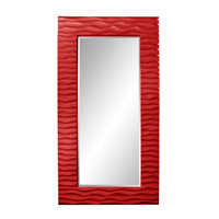 Howard Elliott Collection 56001R Broadway 58 X 30 inch Red Wall Mirror photo thumbnail