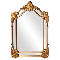 Howard Elliott Collection 56004 Cortland 47 X 32 inch Antique Gold Leaf Wall Mirror, Rectangle photo thumbnail