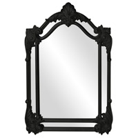 Howard Elliott Collection 56004BL Cortland 47 X 32 inch Black Wall Mirror photo thumbnail