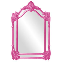 Howard Elliott Collection 56004HP Cortland 47 X 32 inch Hot Pink Wall Mirror photo thumbnail