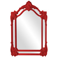 Howard Elliott Collection 56004R Cortland 47 X 32 inch Red Wall Mirror photo thumbnail