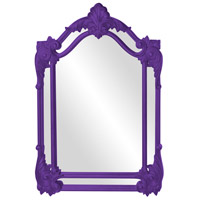 Howard Elliott Collection 56004RP Cortland 47 X 32 inch Royal Purple Wall Mirror photo thumbnail