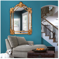 Howard Elliott Collection 56004 Cortland 47 X 32 inch Antique Gold Leaf Wall Mirror, Rectangle alternative photo thumbnail