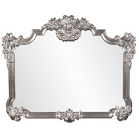 Howard Elliott Collection 56006N Avondale 48 X 39 inch Nickel Wall Mirror photo thumbnail