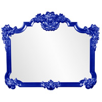 Howard Elliott Collection 56006RB Avondale 48 X 39 inch Glossy Royal Blue Wall Mirror photo thumbnail