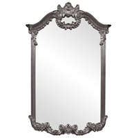 Howard Elliott Collection 56048CH Roman 51 X 32 inch Charcoal Gray Wall Mirror photo thumbnail