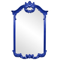 Howard Elliott Collection 56048RB Roman 51 X 32 inch Royal Blue Wall Mirror photo thumbnail