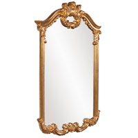 Howard Elliott Collection 56048 Roman 51 X 32 inch Bright Gold Leaf Wall Mirror, Rectangle alternative photo thumbnail