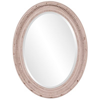 Howard Elliott Collection 56063 Nero 34 X 26 inch Rustic Stone Gray Wall Mirror, Oval photo thumbnail