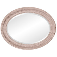 Howard Elliott Collection 56063 Nero 34 X 26 inch Rustic Stone Gray Wall Mirror, Oval alternative photo thumbnail