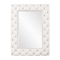 Howard Elliott Collection 56093 Glamour 47 X 34 inch Glossy White Wall Mirror, Rectangle photo thumbnail