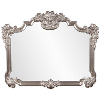 Howard Elliott Collection 56095 Brighton 48 X 39 inch Bright Silver Leaf Wall Mirror, Rectangle photo thumbnail