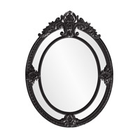Howard Elliott Collection 56096BL Penelope 52 X 39 inch Black Wall Mirror photo thumbnail