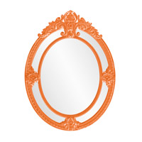 Howard Elliott Collection 56096O Penelope 52 X 39 inch Orange Wall Mirror photo thumbnail