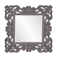 Howard Elliott Collection 56099CH Reese 47 X 47 inch Charcoal Gray Wall Mirror photo thumbnail