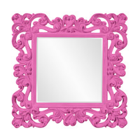 Howard Elliott Collection 56099HP Reese 47 X 47 inch Hot Pink Wall Mirror photo thumbnail