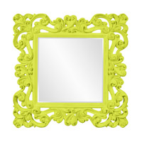 Howard Elliott Collection 56099MG Reese 47 X 47 inch Green Wall Mirror photo thumbnail