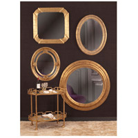 Howard Elliott Collection 56120 Nero 34 X 26 inch Rich Country Gold Wall Mirror, Oval alternative photo thumbnail
