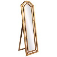 Howard Elliott Collection 56144 Mark 66 X 19 inch Country Gold Leaf Floor Mirror
