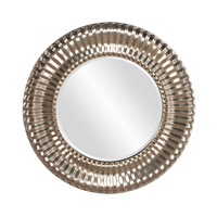 Howard Elliott Collection 56149 Sao Paulo 31 X 31 inch Bright Silver Wall Mirror, Round photo thumbnail