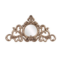 Irene 22 X 12 inch Silver Leaf Mirror Home Decor