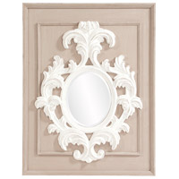 Howard Elliott Collection 56163 Blanche 38 X 29 inch Taupe Wall Mirror photo thumbnail