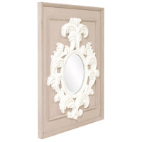 Howard Elliott Collection 56163 Blanche 38 X 29 inch Taupe Wall Mirror alternative photo thumbnail