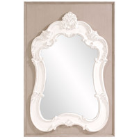 Howard Elliott Collection 56164 Clara 54 X 36 inch Taupe Wall Mirror photo thumbnail