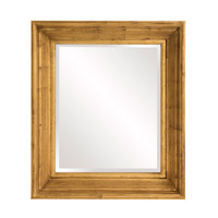 Howard Elliott Collection 56166 Arlo 31 X 27 inch Country Gold Wall Mirror, Rectangle photo thumbnail