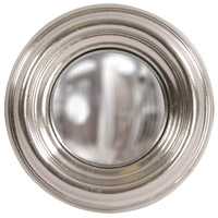 Sylvia Bright Silver Mirror Home Decor, Round, Small