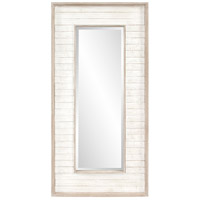 Howard Elliott Collection 56181 Abbey 47 X 23 inch Rustic White Wall Mirror Home Decor