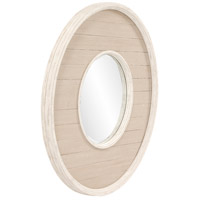 Howard Elliott Collection 56183 Benton 32 X 32 inch Antique Taupe Wall Mirror, Round alternative photo thumbnail