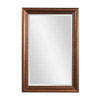 Howard Elliott Collection 57005 Dorian 36 X 24 inch New England Gold Wall Mirror, Rectangle photo thumbnail