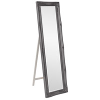 Howard Elliott Collection 57028CH Queen Ann 66 X 18 inch Glossy Charcoal Floor Mirror