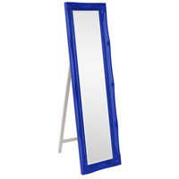 Howard Elliott Collection 57028RB Queen Ann 66 X 18 inch Glossy Royal Blue Floor Mirror