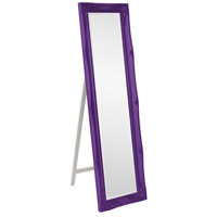 Howard Elliott Collection 57028RP Queen Ann 66 X 18 inch Glossy Royal Purple Floor Mirror