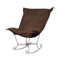 Bella Deep Chocolate Brown Rocker Chair