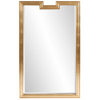 Howard Elliott Collection 60028 Danube 48 X 30 inch Gold Mirror Wall Mirror photo thumbnail