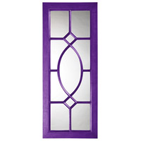 Howard Elliott Collection 60108RP Dayton 53 X 21 inch Royal Purple Wall Mirror photo thumbnail