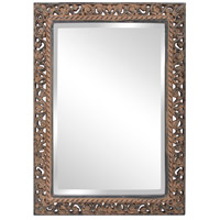 Howard Elliott Collection 6041 Bristol 36 X 26 inch Antique Black Wall Mirror, Rectangle photo thumbnail
