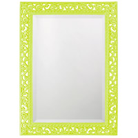 Howard Elliott Collection 6041MG Bristol 36 X 26 inch Moss Green Wall Mirror, Rectangle photo thumbnail