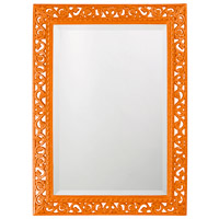 Howard Elliott Collection 6041O Bristol 36 X 26 inch Orange Wall Mirror, Rectangle photo thumbnail