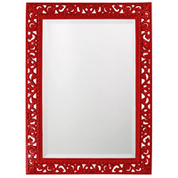 Howard Elliott Collection 6041R Bristol 36 X 26 inch Black Wall Mirror, Rectangle photo thumbnail
