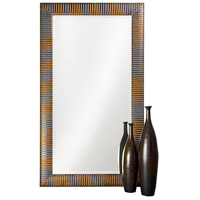 Howard Elliott Collection 6062 Alexander 82 X 46 inch Antique Copper Floor Mirror, Rectangle
