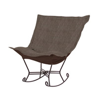 Howard Elliott Collection 655-891 Coco Slate Gray Rocker Chair photo thumbnail