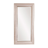 Howard Elliott Collection 68073 Hunter 82 X 40 inch Pearlized Faux Leather Floor Mirror, Silver Leaf Trim photo thumbnail