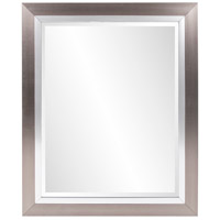 Howard Elliott Collection 69043 Chicago 18 X 18 inch Brushed Silver Wall Mirror, Rectangle photo thumbnail